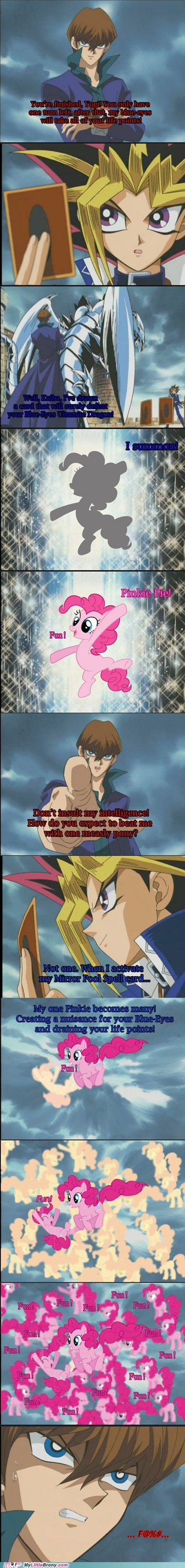 Yu-Gi-Oh! mirror pool comics pinkie pie - 6918637568