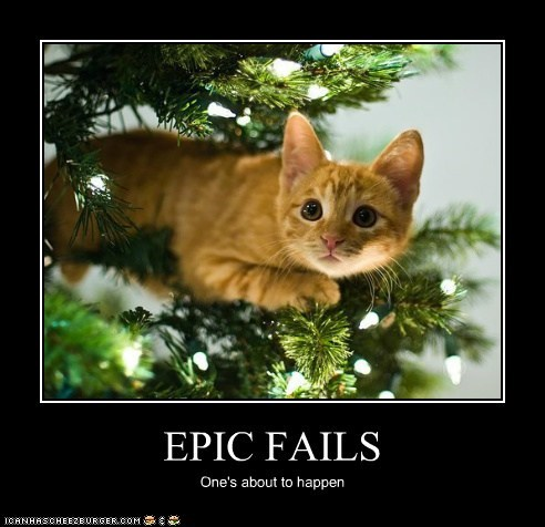 EPIC FAILS One's about to happen