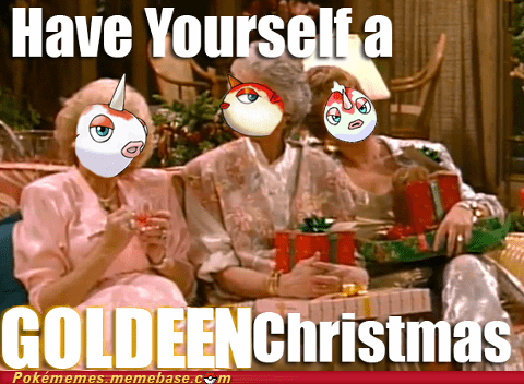 christmas,Goldeen,golden girls