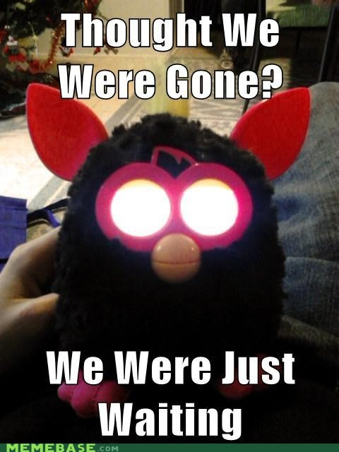 christmas jingle memes furby