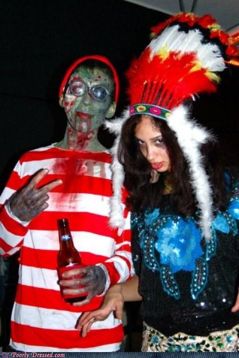 wheres waldo zombie costume