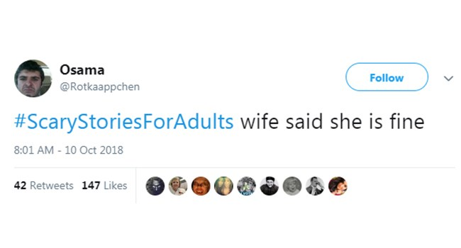 scary halloween tweets adults stories - 6919173