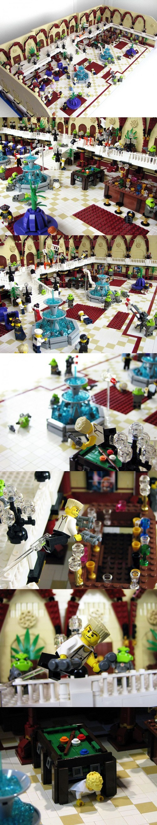 Fhloston Paradise lego scene building the fifth element