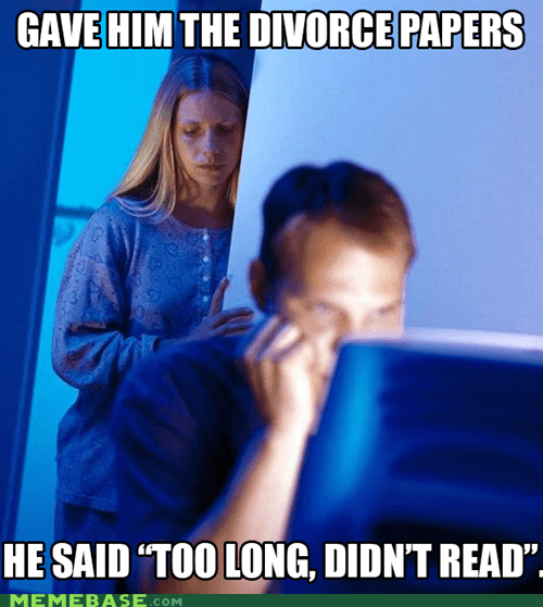 divorce,Internet Husband,tldr