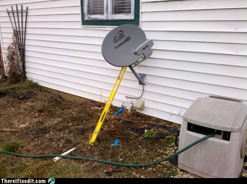 lean on satellite dish somebody to lean on dish - 6919865344