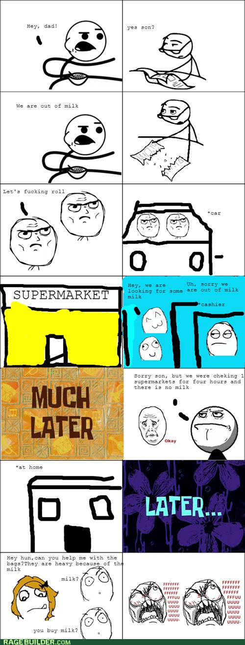 milk rage