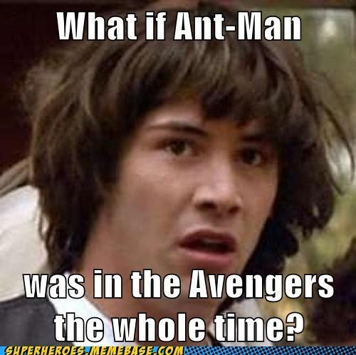 tiny Black Widow conspiracy keanu ant man - 6920219136