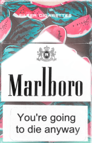 cool message wtf cigarettes