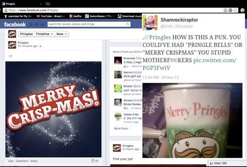 merry crispmas merry christmas pringles - 6920347648