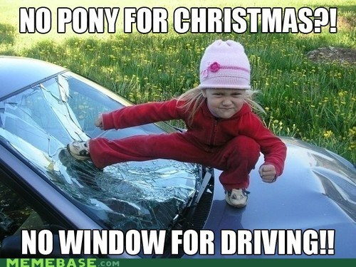 car window christmas jingle memes - 6920442368