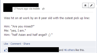 pick-up lines,facebook