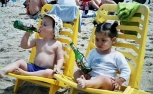 Babies beer beach - 6920547584