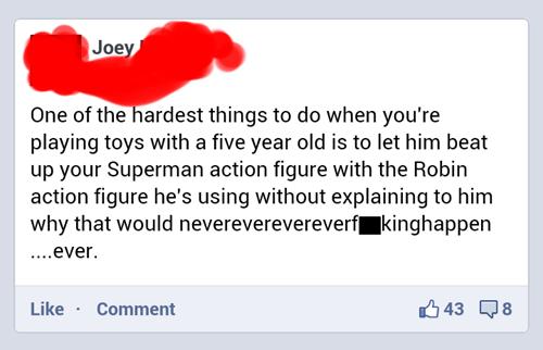 robin facebook superman Parenting FAILS - 6920593664
