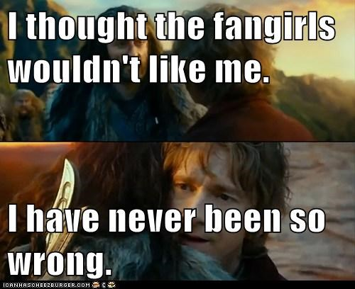 Sudden Change of Heart Thorin The Hobbit fangirls - 6920638464