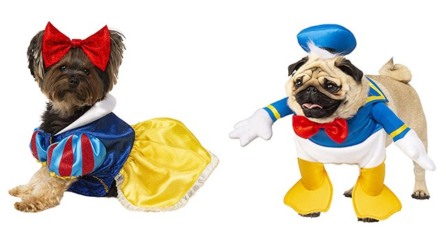 disney halloween costumes for pets