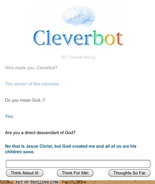 god Cleverbot - 6920741888