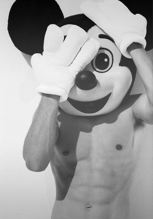 micky mouse,abs,sexy