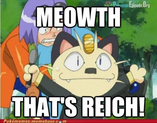 Meowth anime hitler - 6920840448