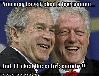 bill clinton democrats george w bush president Republicans - 692163840