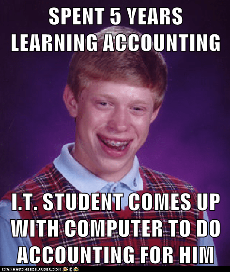 computers it bad luck brian accounting software