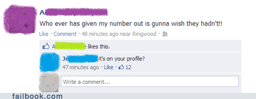 phone number facepalm - 6922628608