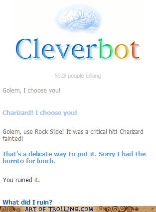 golem Pokémon charizard Cleverbot - 6922874880