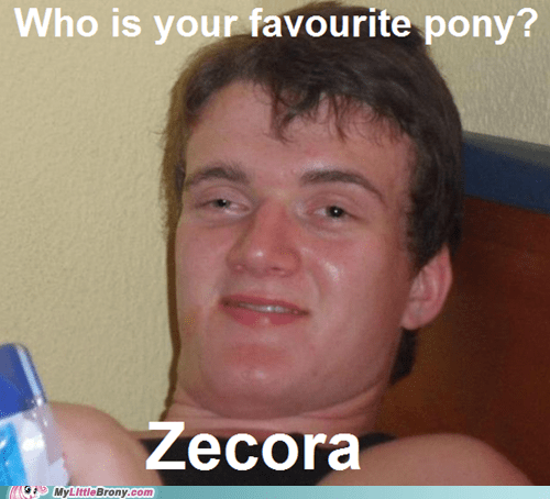 zebra really high guy zecora Memes - 6922921984