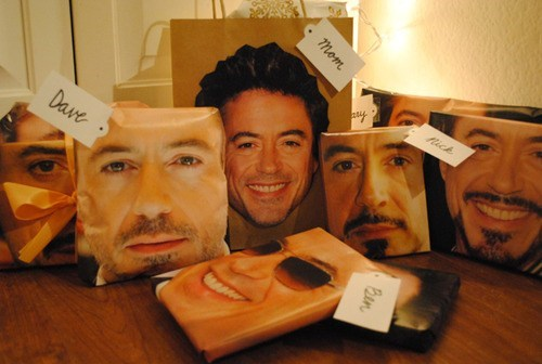 christmas,presents,robert downey jr,actor,funny,holidays