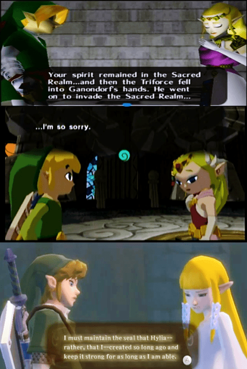 Skyward Sword ocarina of time zelda nintendo wind waker - 6923635968
