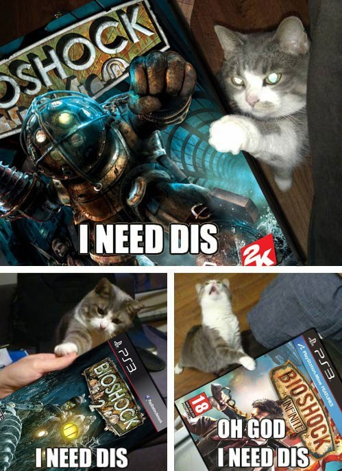 lolcats I Can Has Cheezburger bioshock need dis - 6923778816