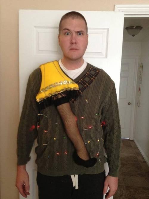 christmas fashion sweater A Christmas Story funny - 6923797248
