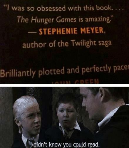 Harry Potter hunger games twilight - 6924783872