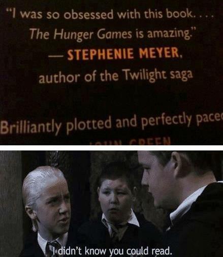 Harry Potter hunger games twilight - 6924783872