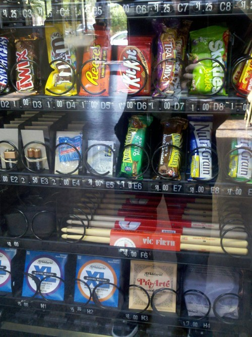 Music drumsticks vending machine g rated win - 6924856832