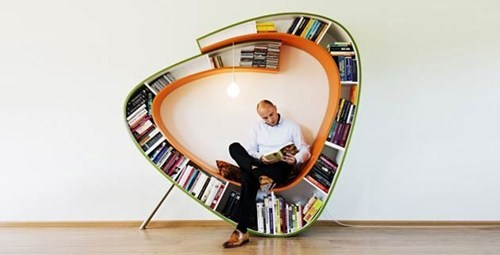 chair,reading is sexy,design,books