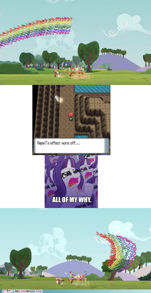 Pokémon repel rarity equestria fruit bats - 6925043968