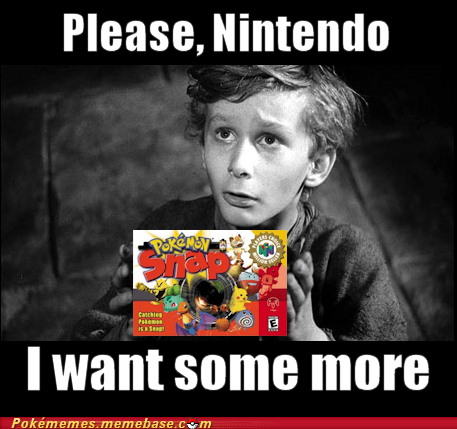 pokemon snap I want some more nintendo - 6925185536