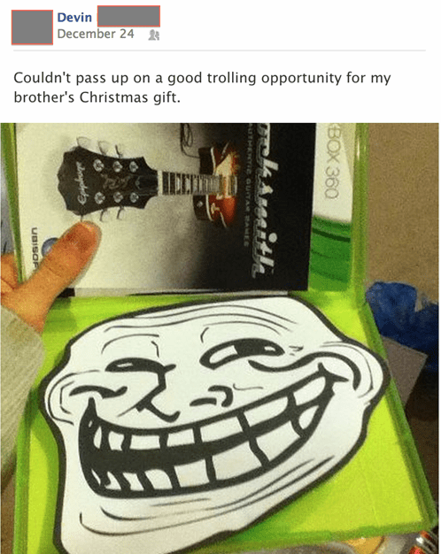 christmas trollface video games