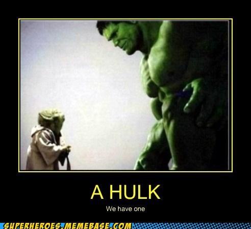 green,yoda,hulk