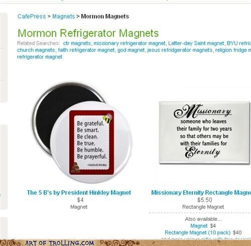 FAIL magnets bees mormons