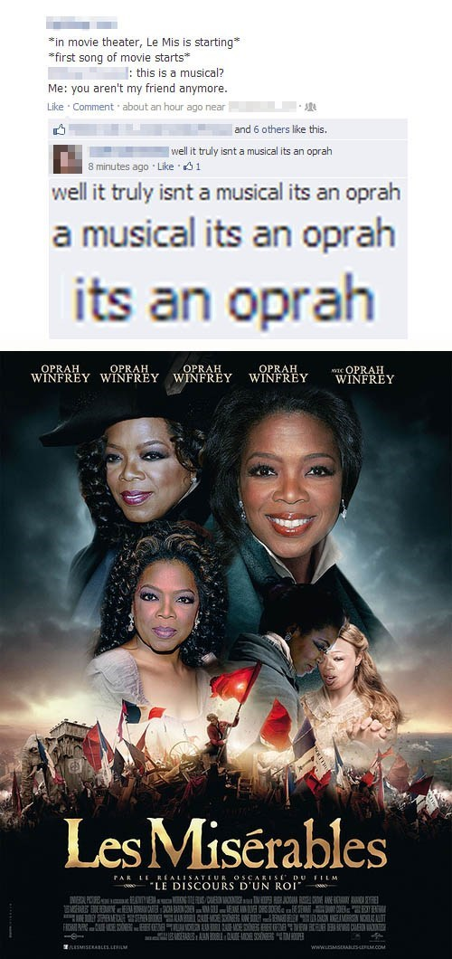 shoop FAIL facebook oprah funny - 6925634048