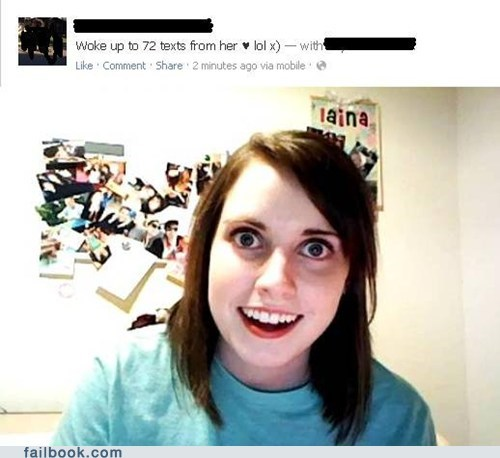 oag texts overly attached girlfriend - 6925638656
