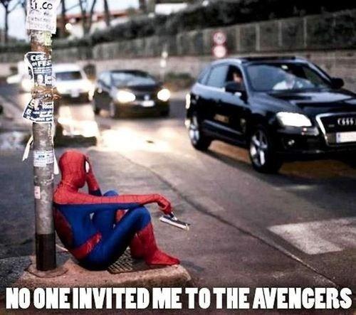 Spider-Man poor avengers journalism - 6925769728