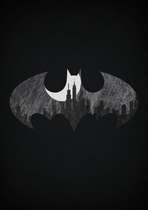 art dark knight poster awesome batman - 6925772544