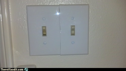 light switch double panel onoff-switch - 6925841920