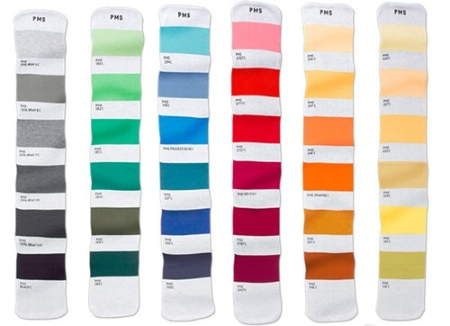 scarf fashion color matching pantone - 6925922816