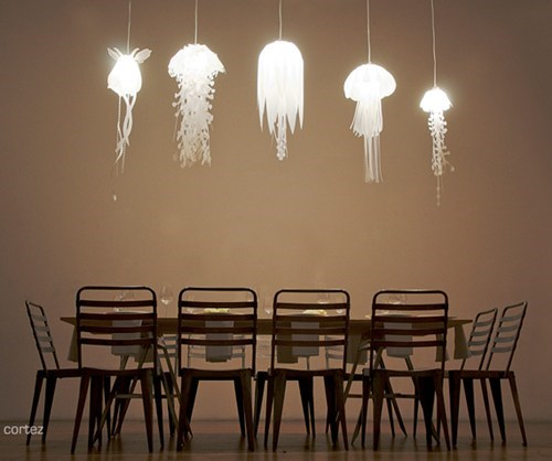 lights lamps decor jellyfish home - 6925929728