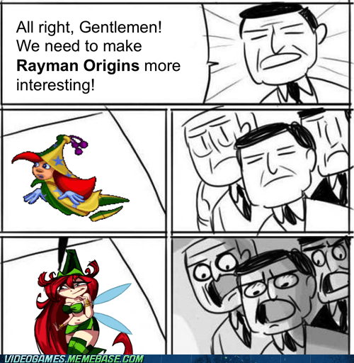 rayman origins Memes smexy fairy - 6926077184