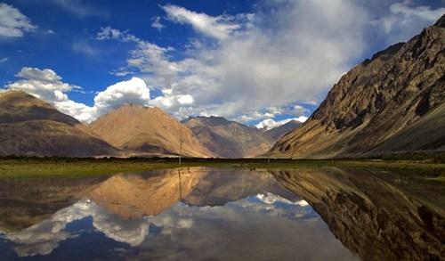 reflection landscape lake - 6926077696