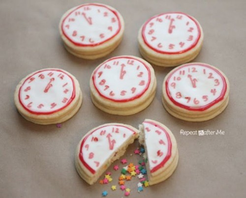 countdown new years baking cookies dessert clock - 6926081792